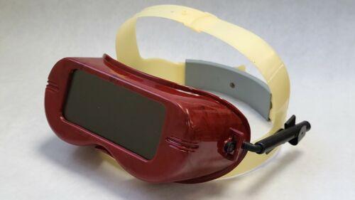 Jackson Safety Welding Goggles, retractable headgear.