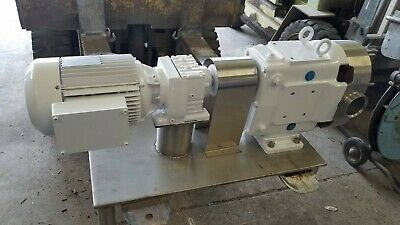 Waukesha Positive Displacement Pump Size 130 3 Hp
