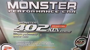 BRAND NEW Monster Performance Car 402 XLN XTreme Speaker Cable Lane Cove West Lane Cove Area Preview