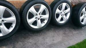 "17"" Rims and Tyres 225/50R17 Dandenong South Greater Dandenong Preview"