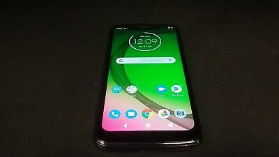 Motorola Moto g7 Play - 32GB - XT1952-4 - Smartphone - Unlocked - Black