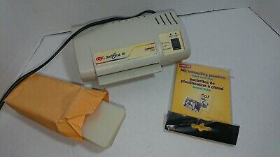 Gbc Docuseal 40 Homeoffice 4 Card Laminator Machine Used With Pouches