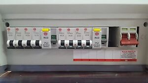 Wylex10 Way Consumer Unit Dual RCD Hi Integrity Free 8MCBs NHRS10SSLHI 17th Edit