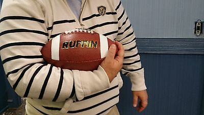 American Football Orange 28.5cm PU Foam Leather Composite Sport Football