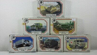 JB Models 1/76 Military Vehicles & AFV's - Your Choice of Model - Buy British!