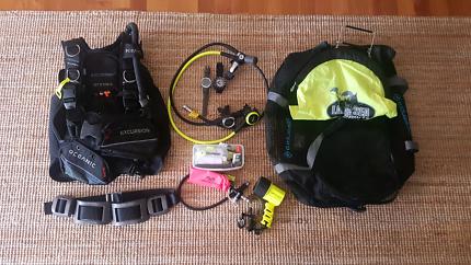 Oceanic Dive Setup