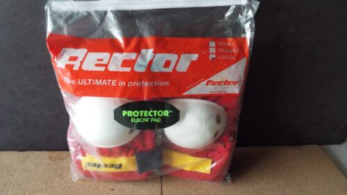 RECTOR ELBOW PADS , SIZE L,  NOS, red
