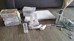 Wii homebrew bundle including games and wii fit board Morphett Vale Morphett Vale Area Preview