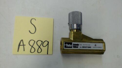 Parker 003371003 Flow Control Valve