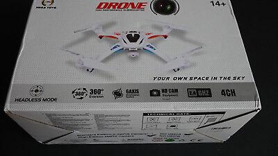 "Nihui U807 Quadcopter, CTW ""SPORT"" Drone White"