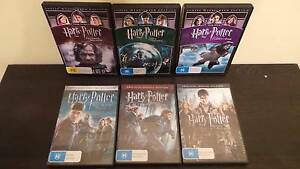 Harry Potter movies 3 - 8 Bunbury Bunbury Area Preview