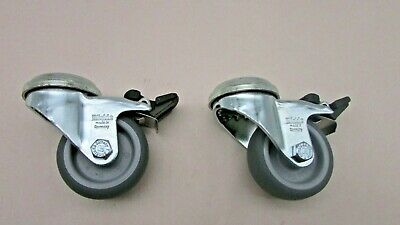 Lot Of 2 Grainger Approved Lra-tpa 50g-fi Low-profile Bolt-hole Caster2