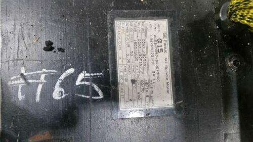 GE Fanuc AC Spindle Motor A06B-0857-B200 #3000