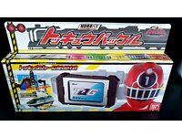 Bandai Power Rangers ToQger ToQ Buckle ToQbuckle Belt Rainbow Pass Shield Ressha