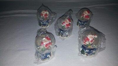 Schneekugel Schüttelkugel Weihnachten Weihnachtsmann NEU