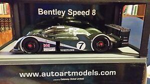 Bentley Speed 8 Winner 24h Le Mans 2003 Autoart 1:18 - Italia - Bentley Speed 8 Winner 24h Le Mans 2003 Autoart 1:18 - Italia