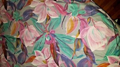 Easter round floral deco custom made cotton print tablecloth 68-69