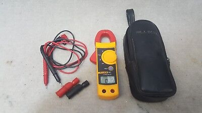Fluke 321 Clamp Meter With Leads And Case