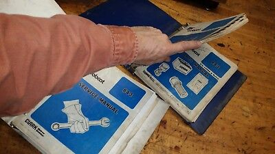 Bobcat 843 Service Parts Owners Repair Manual Book Guide Printed Paper 3 Books