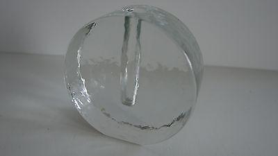 Wiesenthalhütte Wiesenthal Zweigvase Vase Orchideenvase rund Glas Klaus Breit 2