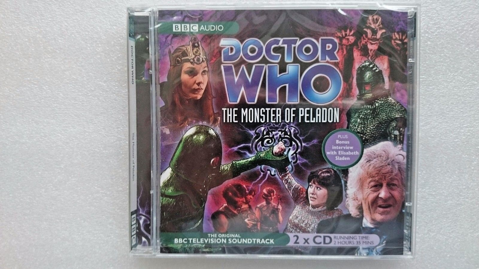 Doctor Who : The Monster of Peladon by BBC CD Audio Soundtrack - New and Sealed