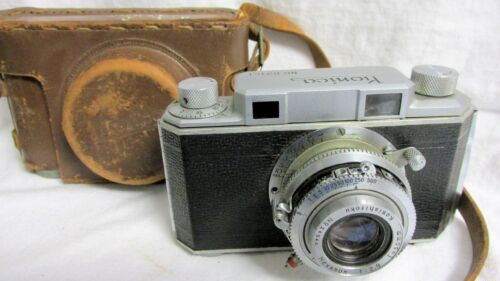 VINTAGE EARLY 1950s KONICA I CAMERA WITH CASE