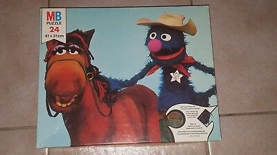 Vintage Puzzle - Muppet Show - 24 Teile - MB Spiele 1976 - 41x31cm - komplett