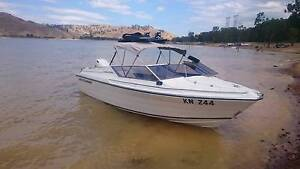 Whittley Cherokee 530. with Johnson 150.perfect  ski boat or fish Heatherton Kingston Area Preview