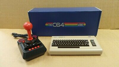 (Pa2) The C64 Mini Console  - 64 Pre-installed Games - Boxed