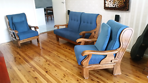 Parker Furniture 3 Piece Lounge Suite Kingsgrove Canterbury Area Preview