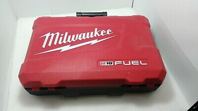 Milwaukee Electric Carrying Case - Milwaukee M18 Fuel Electric Drill Hardshell Carry Storage Case