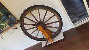 Very old wagon wheel Cooloola Cove Gympie Area Preview