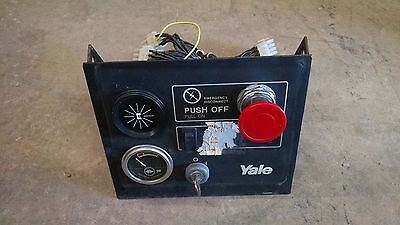 Yale Stock Picker Stacker Forklift Fork Lift Control Panel Guages Dash Battery