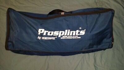Medspec Prosplints 113909 Original Kit Case Medical Emt Paramedic Training Lab