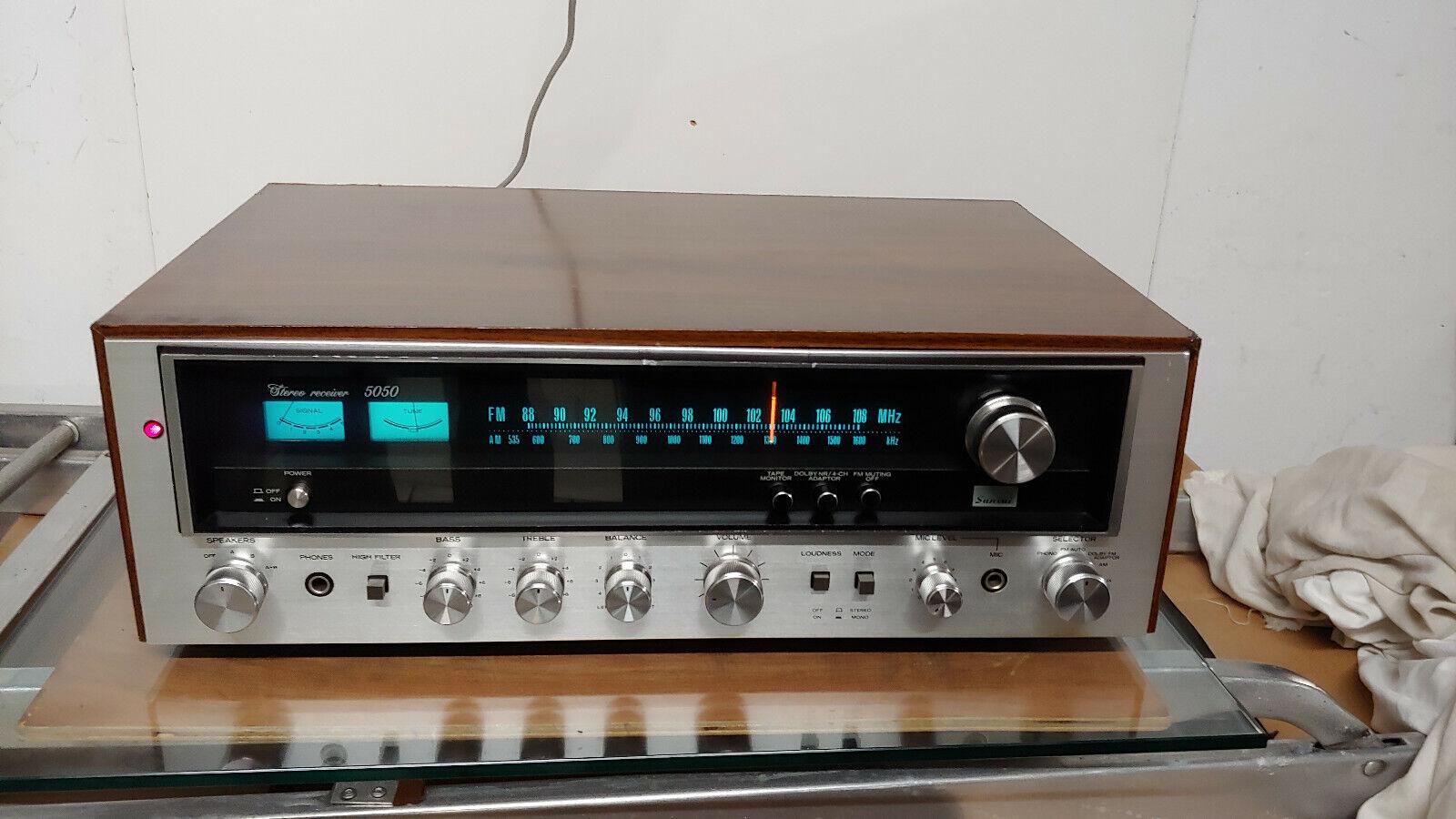 Ampli sansui 5050 de 1976 audiophile