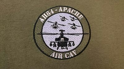 Army Air Corps Ah 64 Apache Helicopter Air Cav Hoodie