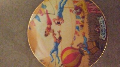 Ringling Bros. and Barnum & Bailey Circus Collector Plate ~ AERIALISTS