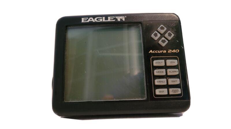 USED-Eagle Accura 240 Fish Finder Depth Sonar