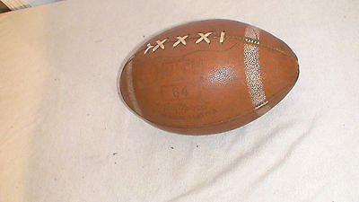 Vintage 1960's Hutch 64 Tom Moose Leather Football (Rare) on Rummage