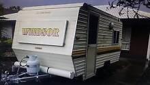 Caravan Windsor Poptop Vintage Retro Van original van full annexe Glenelg Holdfast Bay Preview