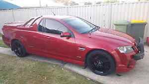 2011 Holden VE II Thunder SV6 Ute in Sizzle red Buderim Maroochydore Area Preview