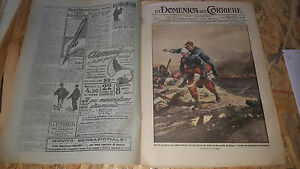 DOMENICA-DEL-CORRIERE-44-1914-EPISODI-DI-GUERRA-TRUPPE-FRANCESI-IN-FUGA