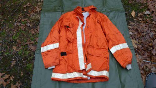 Globe - Firefighter Police - Orange Jacket Full Zip Reflective Size L Large