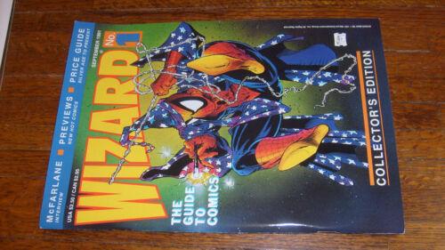 WIZARD: THE GUIDE TO COMICS #1 (1991)  McFarlane cover, VERYFINE/NEARMINT