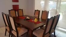 9 Piece Dining Table with Chairs McLaren Flat Morphett Vale Area Preview