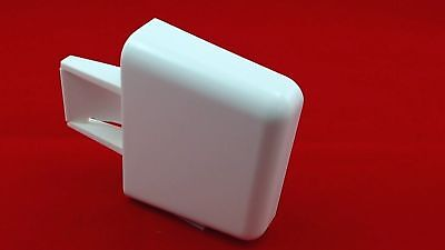 WR2X7975, Refrigerator Door Bar End Cap replaces GE, Hotpoint