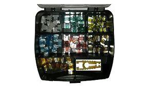 70tlg Mini Micro mit Box KFZ Sicherungen Autosicherungen 5-30A PKW