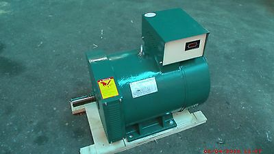 5kw St Generator Head 1 Phase For Diesel Or Gas Engine 60hz 120240 Volt