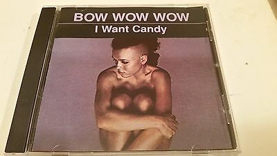 Bow Wow Wow I Want Candy Remastered 10 Track Rare Cd Free Shipping