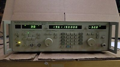 Anritsu Mg3632a Synthesized Signal Generator 100khz-2080mhz Options 03 04